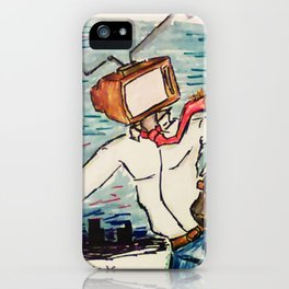 The WaterCooler Socialites iPhone Case
