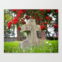 Cemetery Spring Canvas Print
