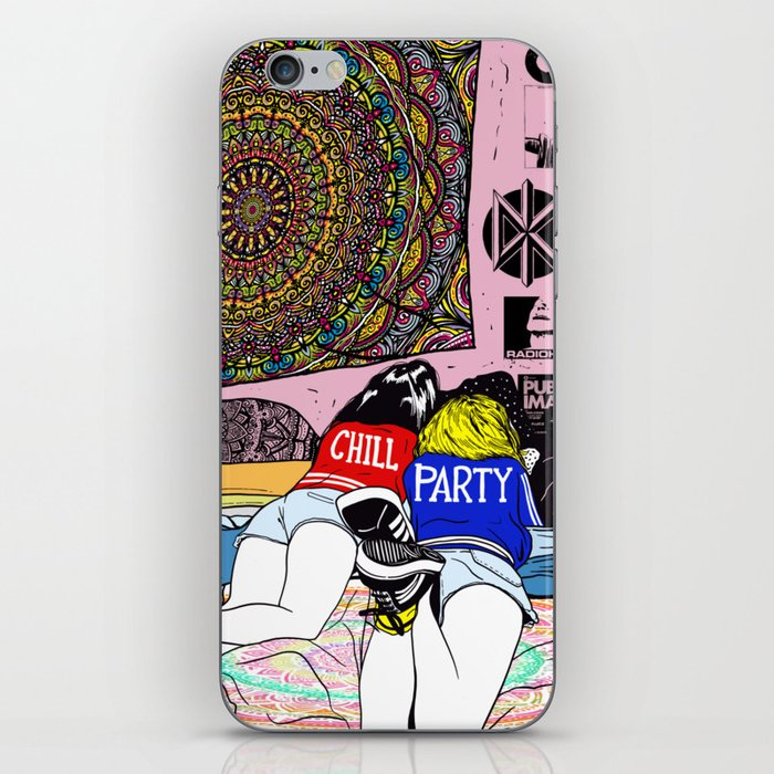 Chill Room iPhone Skin by wolfinst