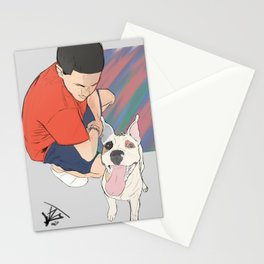 Strong as an ox Stationery Cards