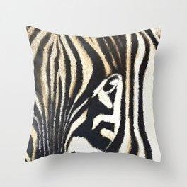 Striped Beauty Throw Pillow