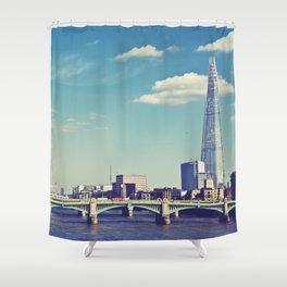 London... Shower Curtain