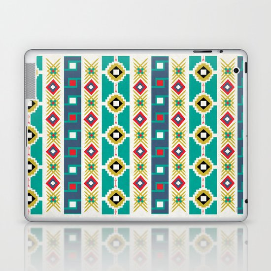 geometric aztec Laptop & iPad Skin