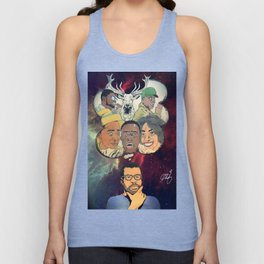 the thinking man Unisex Tank Top