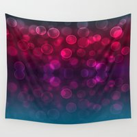 splash Wall Tapestries featuring Splash by Aloke Design