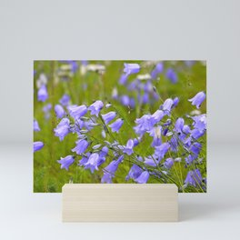 Bluebells Meadow #decor #society6 Mini Art Print