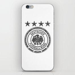 GERMANY NATIONAL FOOTBALL TEAM (DEUTSCHER FUSSBALL-BUND) iPhone Skin