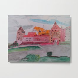 Burg Trausnitz Landshut Metal Print