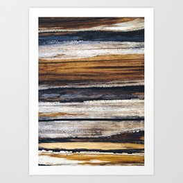 Scars on Cedar Art Print