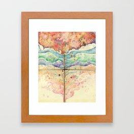 Where everything is music Framed Art Print