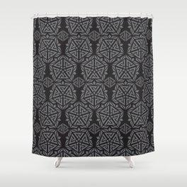 Black Peak Ascension Shower Curtain