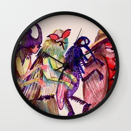 insects entering my room Wall Clock