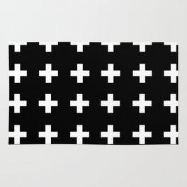 Swiss Cross Scandinavian Design Rug