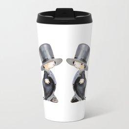 Little Groom and Groom Metal Travel Mug