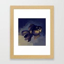Black Moor Framed Art Print