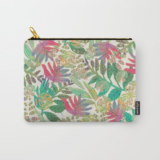 Jungle vector illustration Carry-All Pouch