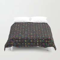 led zeppelin Duvet Covers featuring LED by Simon C Page
