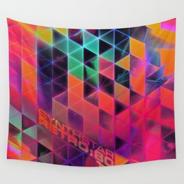 synthstar retro:80 Wall Tapestry