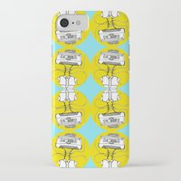 cassette iPhone & iPod Cases featuring Cassette by Molly Yllom Shop