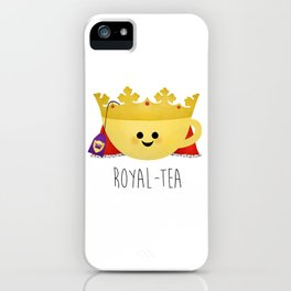 Royal-tea iPhone Case