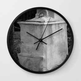old memorial Wall Clock