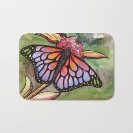 Sunrise Butterfly Bath Mat