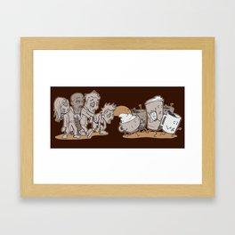 Waking Dead Framed Art Print