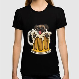 Pug Beer T-shirt