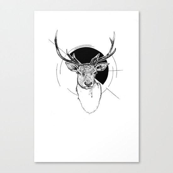 Stag Spirit Canvas Print