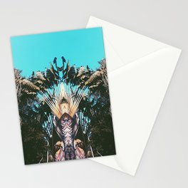 Retro Palm Tree Stationery Cards