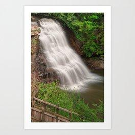 Muddy Creek Falls Art Print