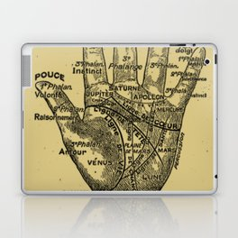 French Palmistry Laptop & iPad Skin