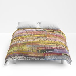 Quilted Conversations Comforters