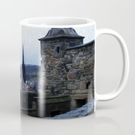 View from Edinburgh Castle Coffee Mug