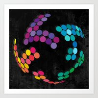 globe Art Prints featuring Globe by Last Call