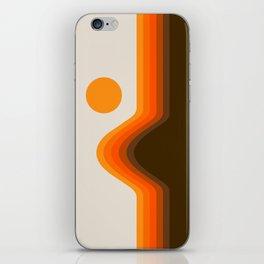 Golden Horizon Diptych - Left Side iPhone Skin