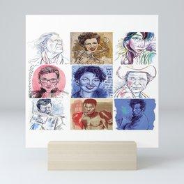 Portraits!  Mini Art Print