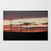 law Canvas Prints featuring natural law by Monica Ortel ❖
