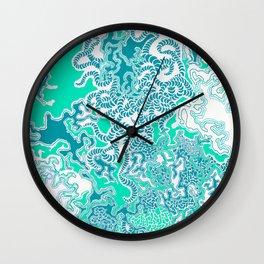 Cells Blue Wall Clock