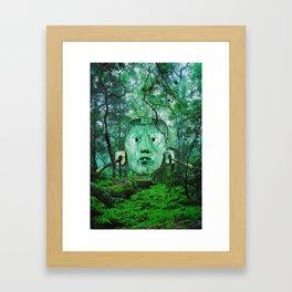 Jade Jungle Framed Art Print