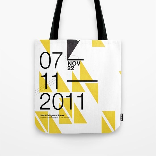 IGNS poster design Tote Bag