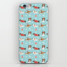 A dog's Christmas iPhone & iPod Skin