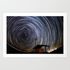 Star Trails Art Print