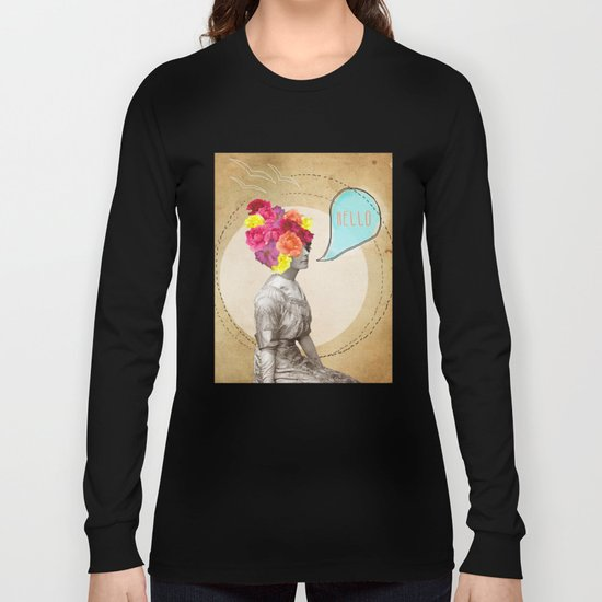 Collage Love - Miss Lady Bird Long Sleeve T-shirt
