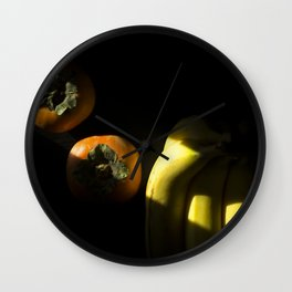 Slice of Sun: Fruit Wall Clock