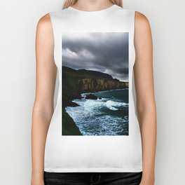 Irish Seascape Biker Tank