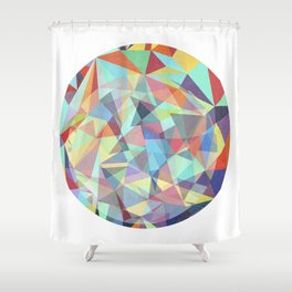Sphere no. 2 Shower Curtain
