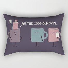 Good Old Days Rectangular Pillow