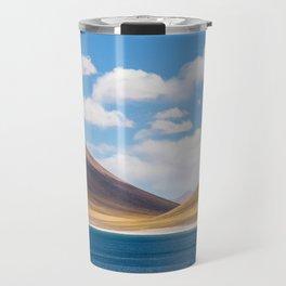 Laguna Miscanti, Atacama, Chile by Caroline Zhao Travel Mug