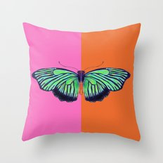 Hal Color Block Throw Pillow